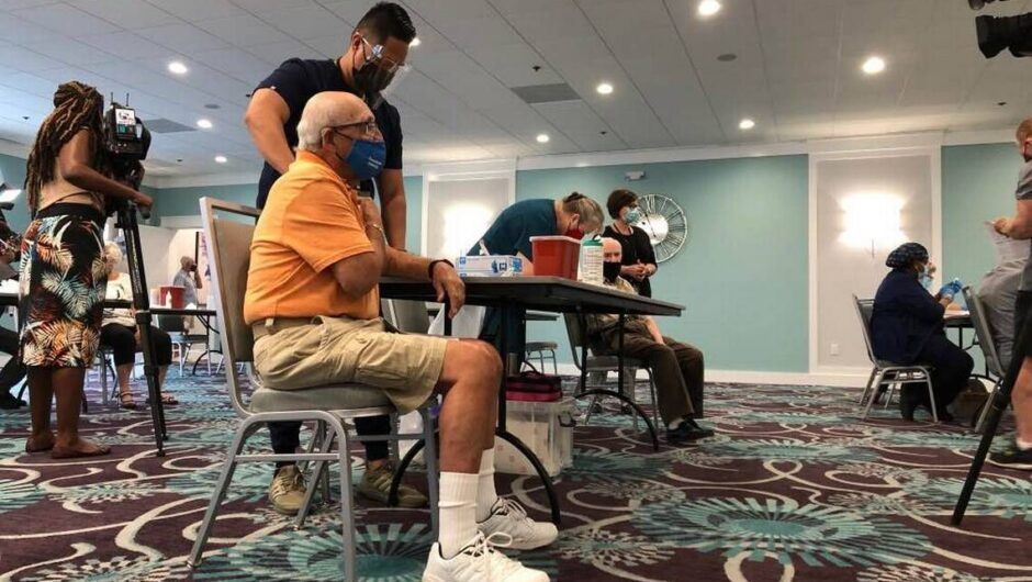 While many wait, Palm Beach seniors get COVID-19 vaccine