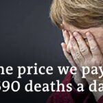 Merkel gets emotional in speech | DW News
