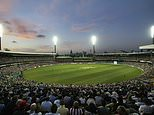 Sydney cricket test match crowds are cut in half to just 10,000 fans a day amid COVID-19 concerns
