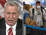 COVID-19 US: De Blasio wants FULL UK travel ban due to super strain