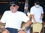 Lord Alan Sugar is spotted for the first time since his two siblings died due to coronavirus