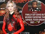 Grimes reveals that she's battling COVID-19… but says she's 'weirdly enjoying' it
