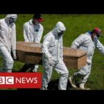 Brazil battling deadly new Covid variant and world's second-highest mortality rates – BBC News