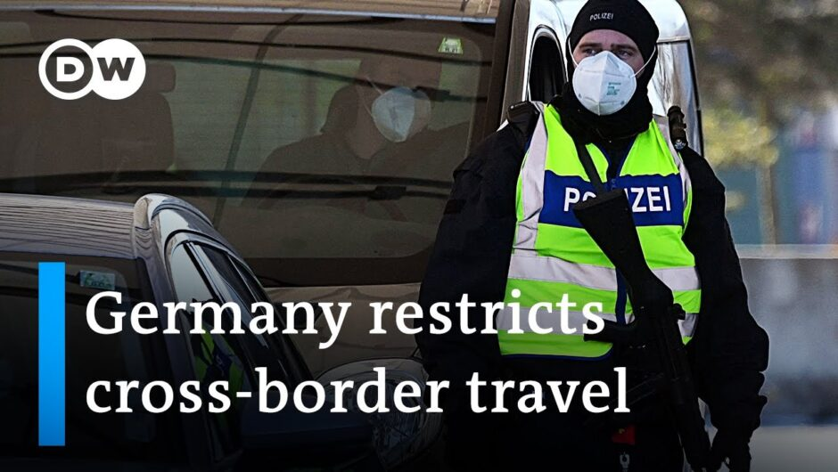 Coronavirus: Germany shuts borders +++ Sanofi vaccine not ready in 2021 | COVID19 Update