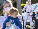 Amanda Kloots, 38, takes son Elvis to visit friends after getting her first dose of COVID-19 vaccine