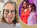 Ayda Field, 41, delightedly reveals her mother Gwen, 70, has received her second coronavirus jab