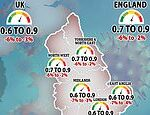 Covid-19 UK: Number of Brits getting coronavirus each day drops AGAIN by 18% in a week