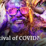 Indians ignore social distancing pleas at Holi Festival celebrations   DW News