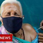 Everyone over 45 now eligible for Covid jab in India – BBC News
