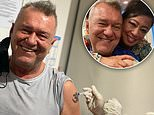 Rock legend Jimmy Barnes says he 'didn't feel a thing' after getting his first Covid-19 vaccine