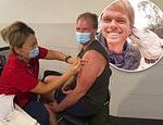 The Bachelorette's Jarrod Woodgate shares video of himself getting his 'first COVID-19 vaccination'