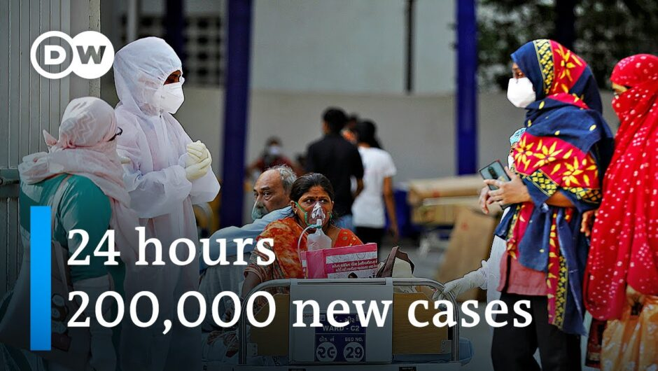'Tsunami' of COVID cases puts India's hospitals on the brink | DW News