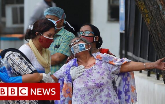 India coronavirus: 'My city is under siege from Covid'