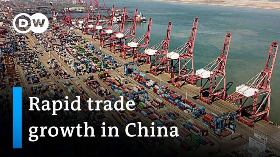 Why are Chinese imports & exports surging? | DW News