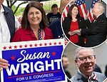 Wife of Texas Congressman who died of COVID-19 wins place in the runoff for her late husband's seat