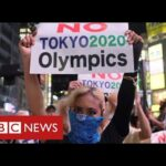 Japan argues over looming Olympics as Covid emergency extended – BBC News
