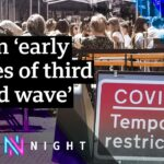 What impact could rising cases have on the ending of Covid restrictions?– BBC Newsnight