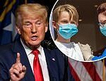 'Stop vaccinating young people': Trump says coronavirus vaccines are potentially dangerous for kids