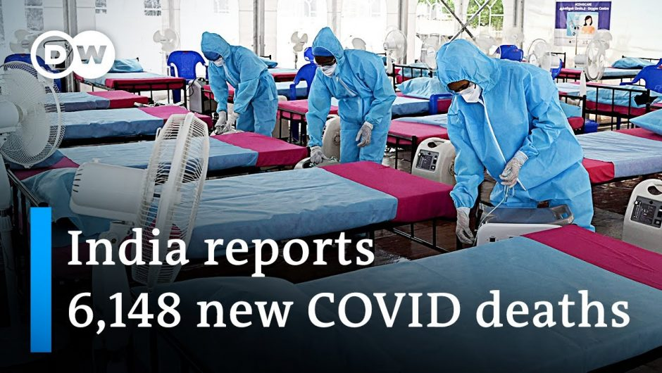 India reports the world's worst single-day COVID-19-death toll   DW News