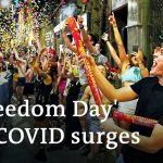 England's 'Freedom Day' comes amid soaring COVID rates | DW News