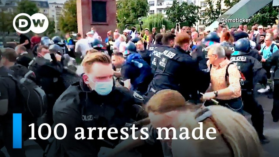 Coronavirus protesters clash with police in Berlin   DW News